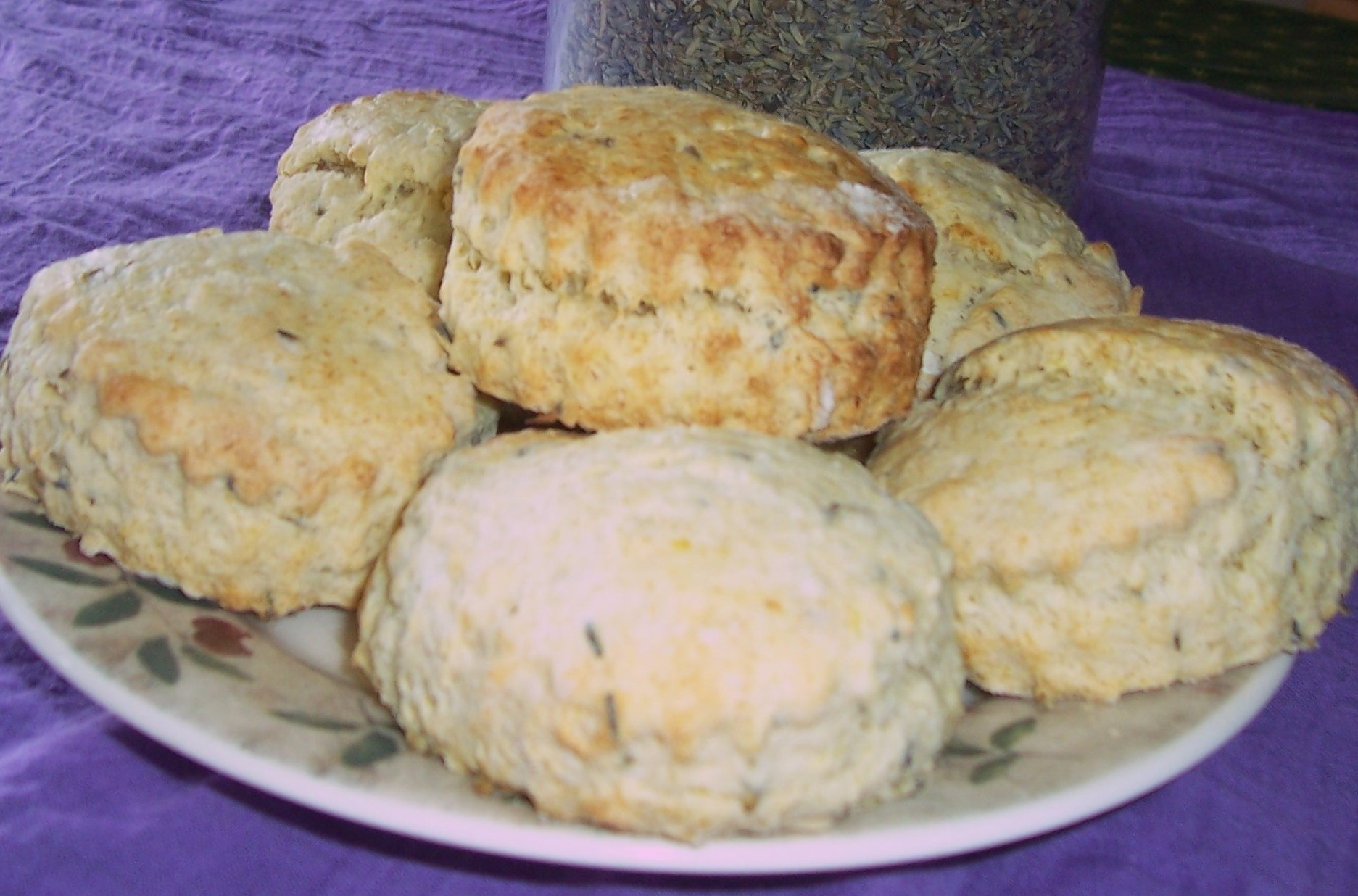 Postcards from the plot #1 *Lavender scones* Petworth ...