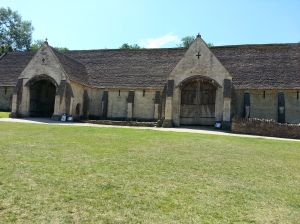 our theatre for one week only - Bradford on Avon's Tithe Barn