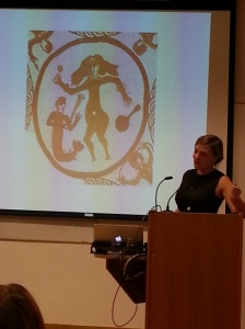 Charlotte Higgins showing that the Romans may have discovered twerking.