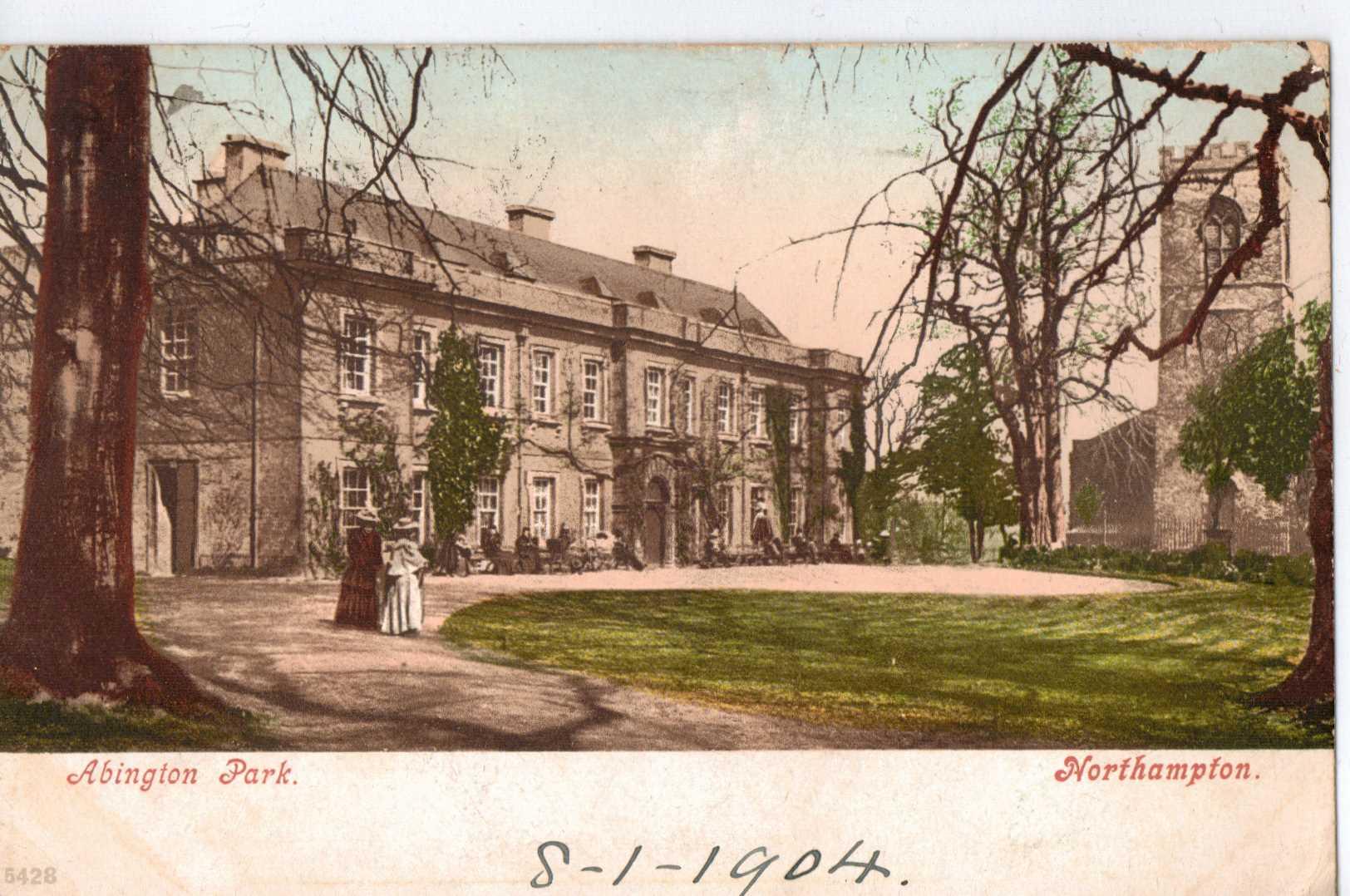 Abington Park in its heyday