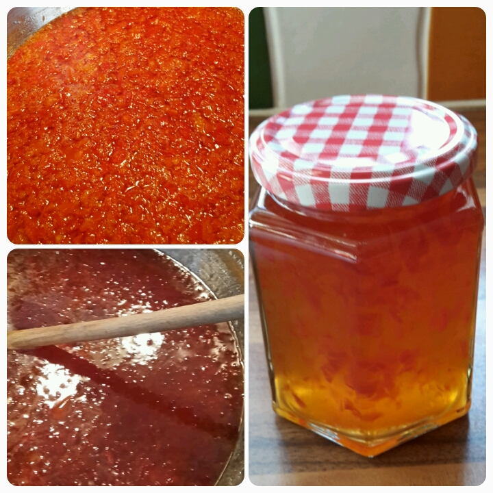 Chilli jam for Christmas hampers